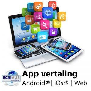 App vertalen, app-vertaling