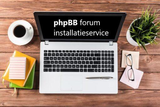 phpbb forum installatieservice
